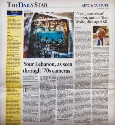 The daily star - Your Lebanon, as seen through 70's cameras